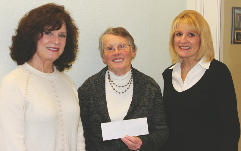 Patty Clark (Austin Kirby Foundation), Terry Palmitiere, Linda Cuddy-Stieber
